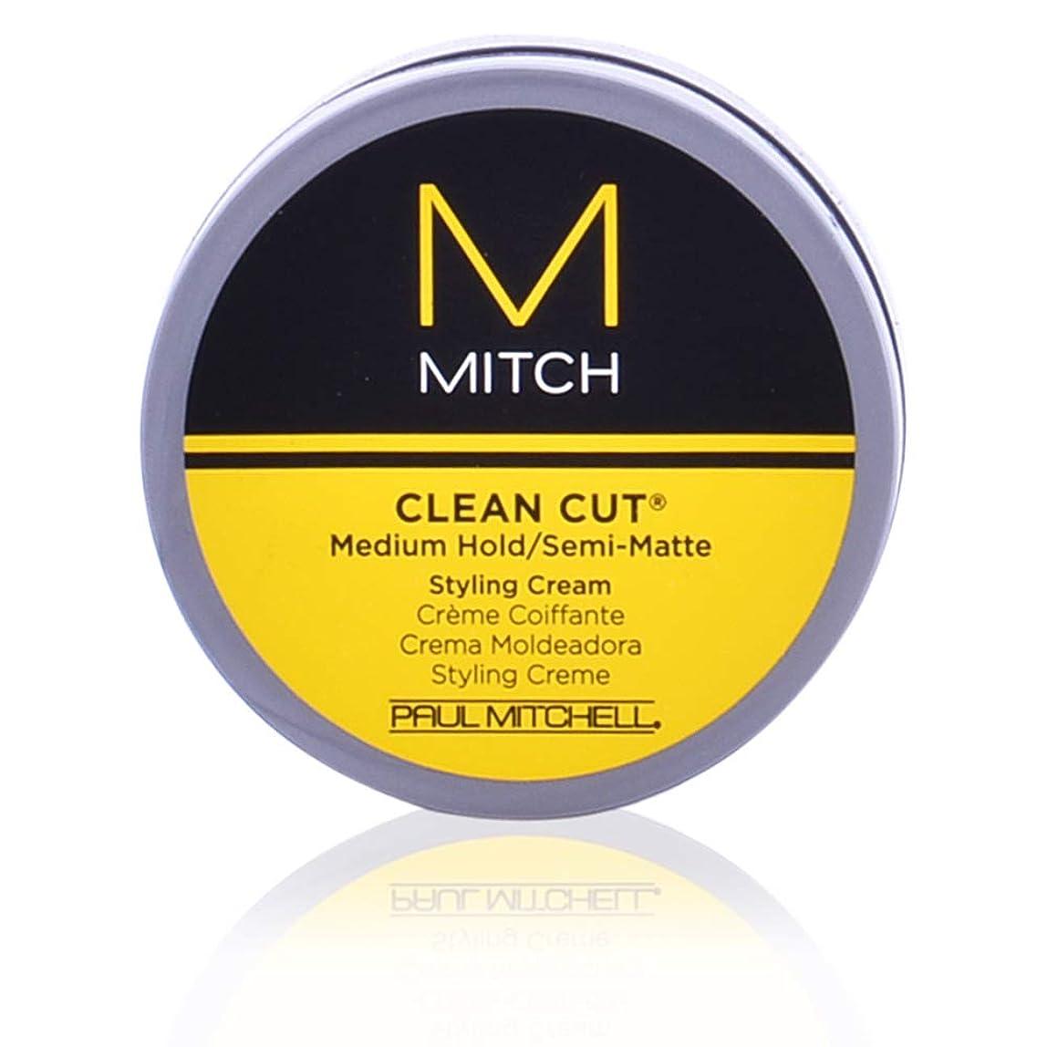 パプアニューギニア操る役に立つMitch Clean Cut Medium Hold/Semi-Matte Styling Cream