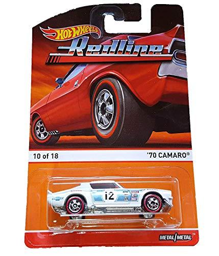 \'70 CAMARO (10 of 18) * Redlines / Heritage Series * 2015 Hot Wheels 1:64 Scale Die-Cast Vehicle