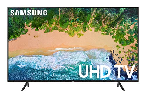 Samsung UN58NU6080FXZA Flat 58-Inch 4K UHD 6080 Series Ultra HD Smart TV (2018)