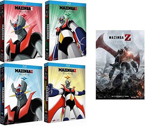 MAZINGA Z - Vol. 1+2+3+4 + Il Film (13 Blu-Ray) Ed. Italiana