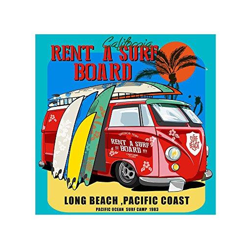 Placa Combi Surf 25X25cm Kapos Preto