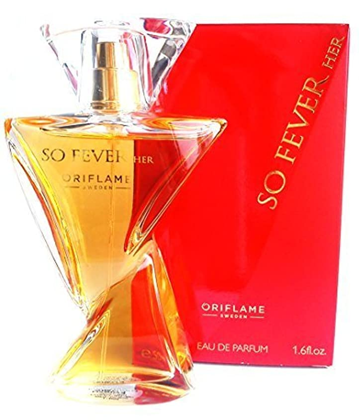 歌うなめる足音ORIFLAME So Fever Her Eau de Parfum Natural Spray 50ml
