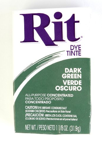 NAKOMA PRODUCTS 0340186 Rit Dye Powder Dark Green