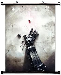 Fullmetal Alchemist Anime Fabric Wall Scroll Poster (16