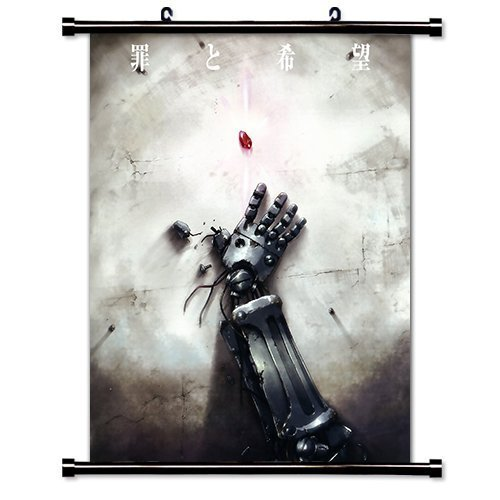 Fullmetal Alchemist Anime Fabric Wall Scroll Poster (16' X 22') Inches