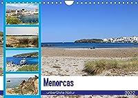 Menorcas unberuehrte Natur (Wandkalender 2022 DIN A4 quer): Entdecken Sie die schoenste Insel der Balearen! (Monatskalender, 14 Seiten )