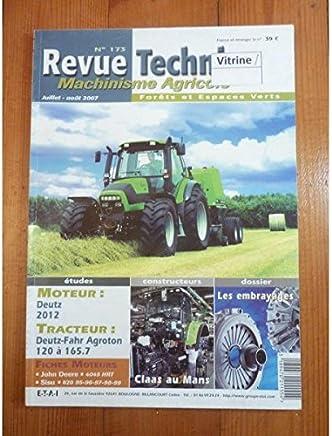 Agriculture Revue Technique Machinisme Agricole 100 Tracteur Massey Ferguson 3670 3680 3690
