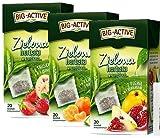 8262 BIG-ACTIVE Grüner Tee, im Teebeutel mit Zusatz von Quittenfrucht, Mandarine, Erdbeere,...