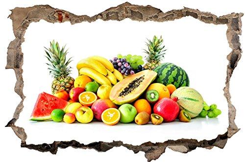 Obst Gemüse Wandtattoo Wandsticker Wandaufkleber D0534 Größe 40 cm x 60 cm