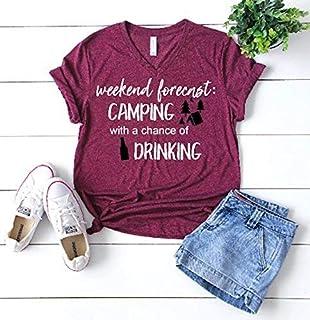 funny camping shirt camp tee drinking t-shirt