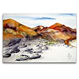Premium Textil-Leinwand 120 x 80 cm Quer-Format La Geria -