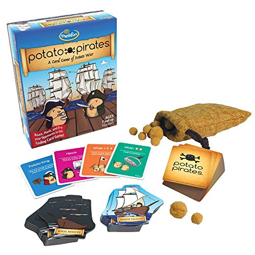 ThinkFun Potato Pirates Coding Card Game and STEM Toy for Boys and Girls...