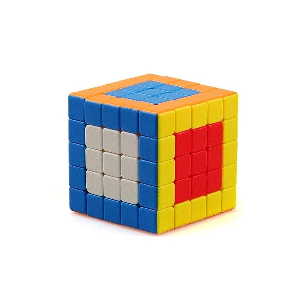 ランチョン古い聡明ルービックキューブ、チリの高級プラスチック素材で作られたルービックキューブ、スタイリッシュな外観、使いやすい(2次/ 3次/ 4次/ 5次) (Edition : Fifth-order)