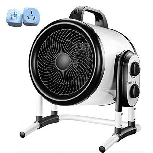 DJSC Calentador de Patio al Aire Libre, Elemento Calefactor de Acero Inoxidable Calentador de Patio eléctrico de Calentamiento rápido, secador de Grado Industrial, Adecuado para Jardines, pabello