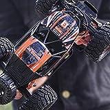 Auto telecomando, tutto il terreno ad alta velocità Elettrico ricaricabile Buggy Bugy Toy 1:14 Scala Scala Telecomando Modello auto 2.4 GHz 4WD Monster Crawlers Chariot Radio Controllata alla deriva p
