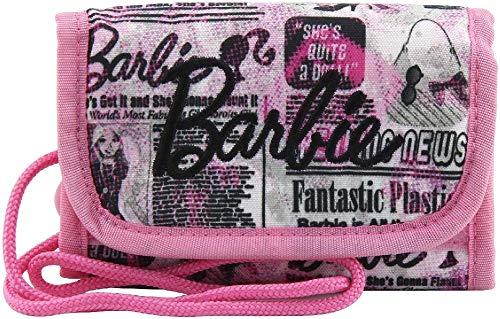 Barbie Monedero, Color Rosa/Negro y Blanco