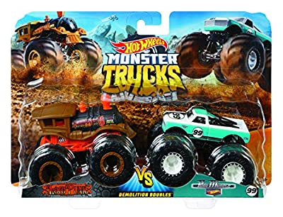 Hot Wheels Monster Demo Doubles Trucks 2 Pack - Styles May Vary from Mattel