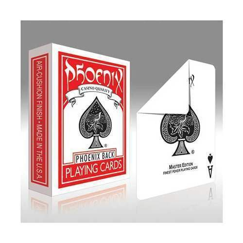 SOLOMAGIA Phoenix Gaff Cards - Blank Back and Standard Face - Gaff Kartenspiel - Zaubertricks und Magie