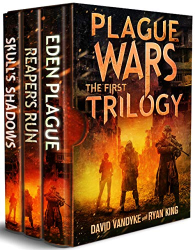 Plague Wars: Infection Day: The First Trilogy: Three apocalyptic sci-fi technothriller adventures (Plague Wars Series Book 12) Kindle Edition by David VanDyke  (Author), Ryan King  (Author)