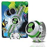 SyeRum Reloj de proyector para niños, Reloj de proyector para Ben 10 Omnitrix, Figuras de acción de proyección, Modelo de Juguete para niños