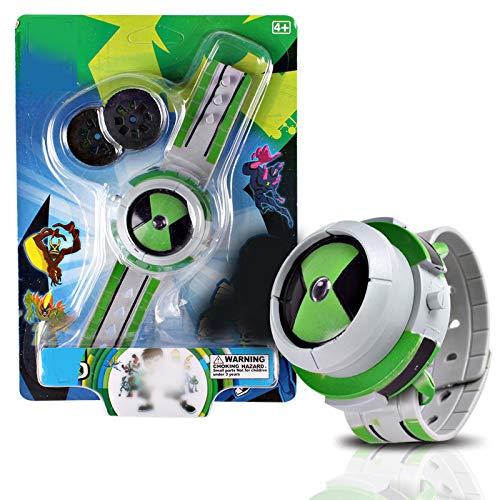 Juguetes Ben Watch Omnitrix Juguetes para niños Proyector Relojes Bening 10 Proyector Soporte Mediano Regalos de cumpleaños para niños