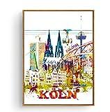 NOT Poster Amsterdam Berlin Budapest Köln Kopenhagen