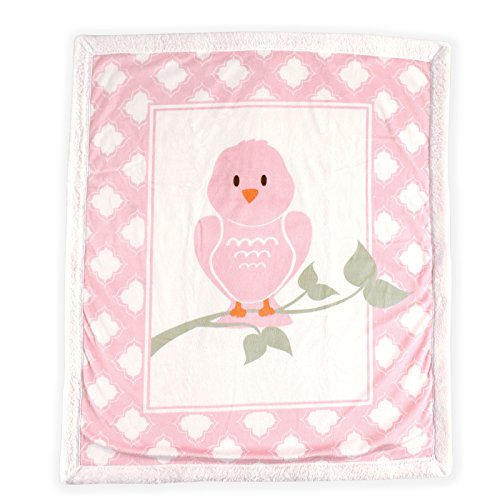 Price comparison product image Luvable Friends Blanket with Sherpa Backing