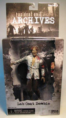 Resident Evil Archives Serie 2 - Lab Coat Zombie 18 cm acción figura