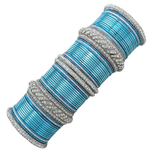 Banithani Kada Armreif Für Ihre Indische Designer Hochzeit Armband Schmuck Geschenk-Set 2 * 6