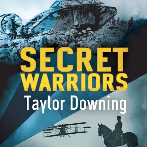 Secret Warriors audiobook cover art