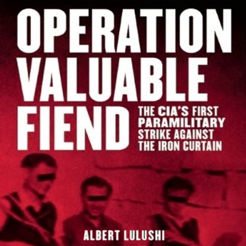 Operation Valuable Fiend audiobook cover art