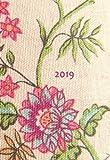 Mini Kalender 2019 - Blumen - ca. DIN A6, 1 Woche pro Seite