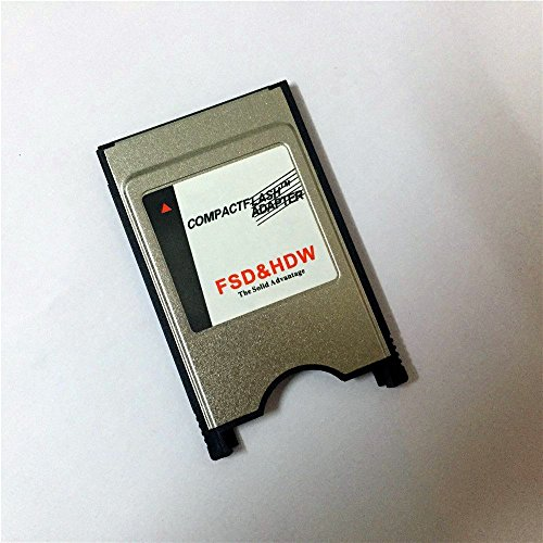 Bodawei Laptop PCMCIA Digigear Compact Flash to PCMCIA PC Memory Card Adapter Reader ( ATA Flash/UDMA ) PCMCIA Adapter for Cf Cards