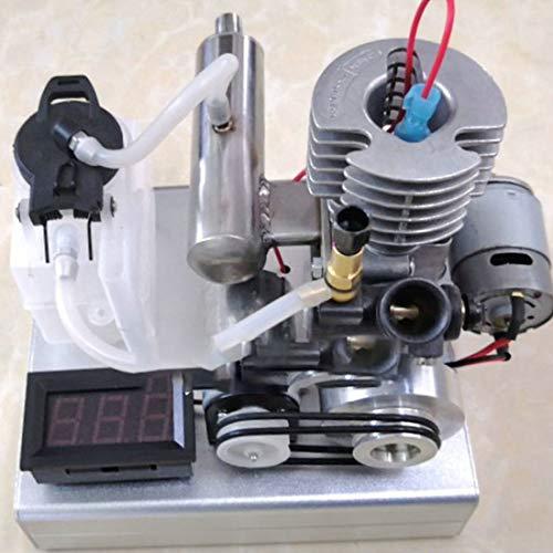 POXL Methanol Stromerzeuger, Tragbar Ein-Knopf-Start Methanol Motor, 2000-17000 U/min, 12-24 V Niederspannung, 1000 mA