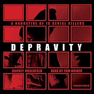 Depravity audiobook cover art