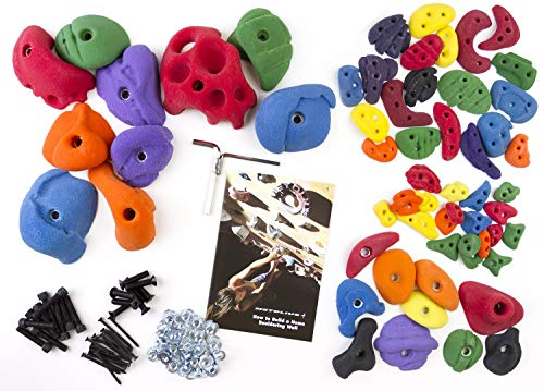 Metolius Foundation Holds - 60 Pack Holds & Boards