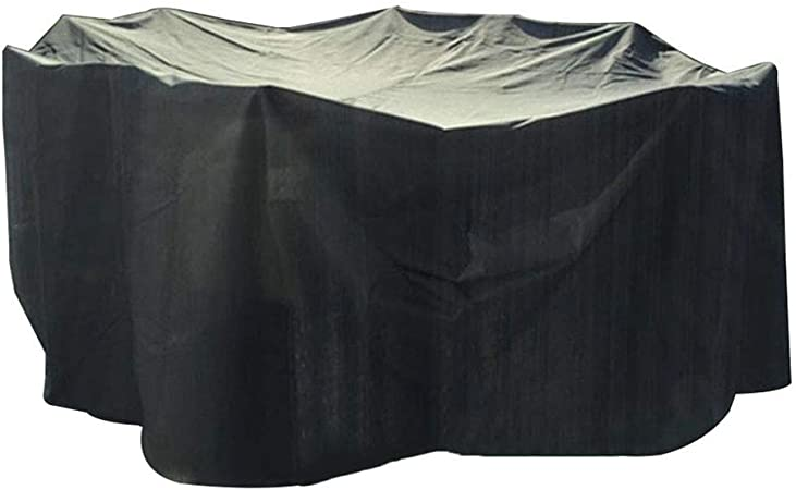 Amazon Com Catrp Tarps Patio Furniture Covers Garden Furniture Covers Waterproof Breathable Patio Set Cover For Outdoor Table And Chairs Black Size 120x120x90cm Garden Outdoor