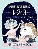 Aprende los números: ejercicios de escritura: números y cuentas: preescolar y primaria: Cuaderno de actividades para practicar las matemáticas con ... y educación infantil (de 3 a 5 años)