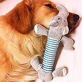 Hundespielzeug Plüsch-Sound-Haustier-Welpen kauen Quietsche Squeaky Model 3 - 2