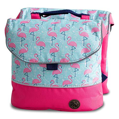 BambinIWelt Gepäcktasche, Gepäckträgertasche für Fahrrad, Fahrradtasche für Kinder, wasserabweisend, z.B. für alle Puky Räder (Modell 25)