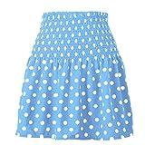 N\P Faldas de las mujeres de verano de la cintura alta