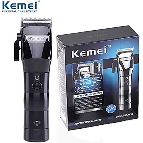 KEMEI Men's Electric Powerful Cordless Styling Tools Hair Clipper Trimmer Cutting Machine Haircut Trimming Powerful Rechargeable Professional Grooming Clippers