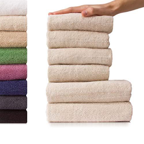 etérea, handdoeken, badstof, zware en wollige kwaliteit, 500 g/m2