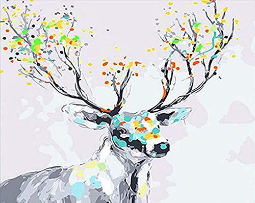 N/ A DIY schilderij figuren, dier kits moderne familie muur canvas kinderen en volwassenen handgeschilderde olieverfschilderijen