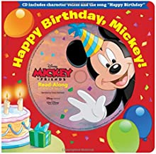 Happy Birthday, Mickey! Read-Along Storybook & CD (Read-Along Storybook and CD)