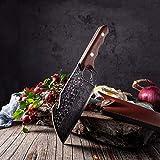 Cuchillo de cocina Carnicero pescado carne cuchilla cortando cocina Cuchillo de chef Cuchillo de deshuesado Herramienta portátil Herramienta de supervivencia al aire libre cuchillo chef de