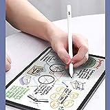 ZOYUBS ipad タッチペン デジタルペン アイパッド スタイラスペン iPadペン タッチペン ipad スタイラスペン iPad専用ペン デジタルペン(第2世代)誤操作防止 極細1mm 2018年以降のiPad専用 ipad pro 3 /ipad mini 5/ ipad air 3/ ipad6/ iPad6(6世代)/ iPad7(7世代)/iPad Air(3世代)/ iPad Mini(5世代)/ iPad Pro12.9(3世代)超高感度 充電 主動式 イラスト ipad pencil アイパッド ペン 20時間稼動 5分間自動オフ 金属製 軽量 USB充電式 タッチ ペン(ホワイト)