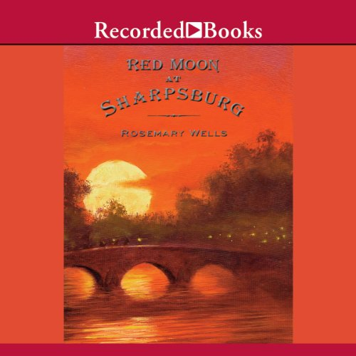 Red Moon at Sharpsburg audiobook cover art