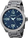 Nixon Reloj Analógico para Hombre de Cuarzo con Correa en Acero Inoxidable A3461427