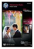 HP Premium Plus CR695A - Papel fotográfico satinado (50 hojas, 10 x 15 cm)